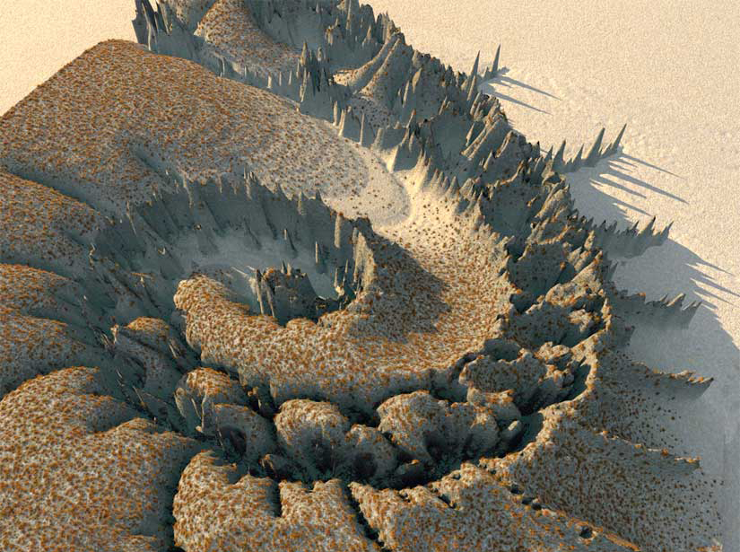 fractal mountains