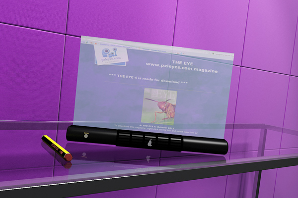 holographic tablet